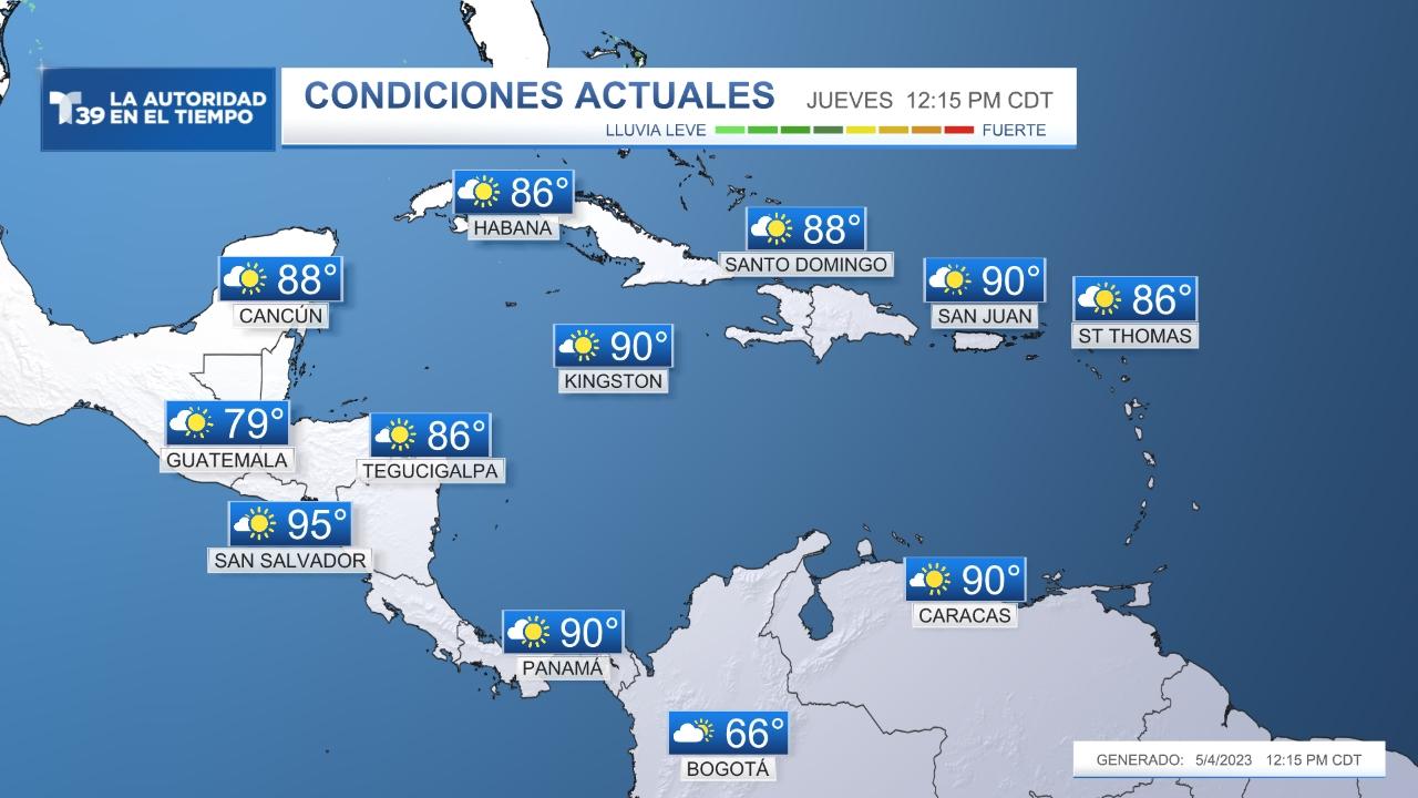 Actualmente - El Caribe