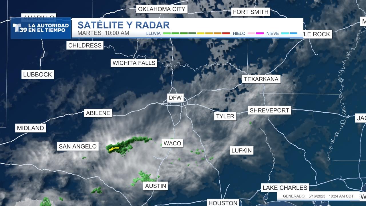 Satélite y Radar - Norte de Texas