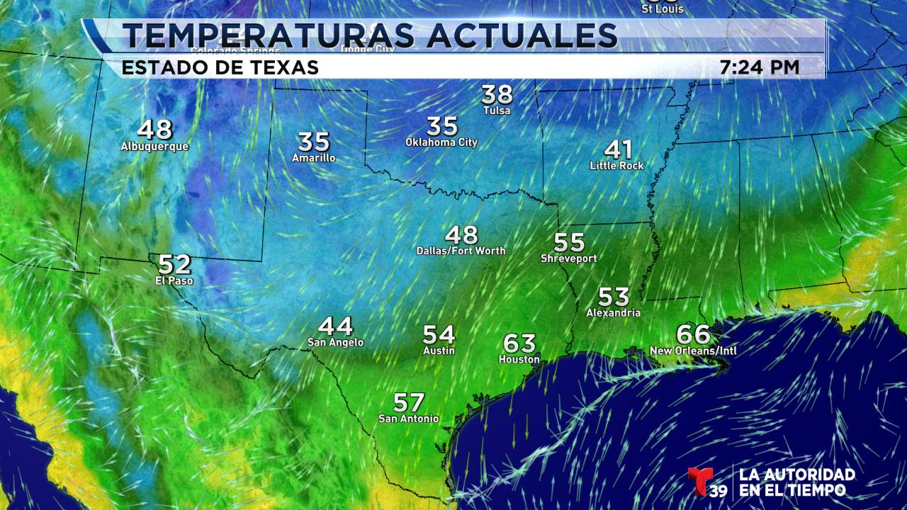 Temperaturas - Estados Unidos