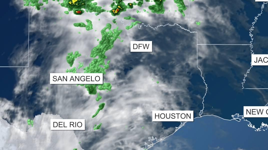 Satélite y Radar - Texas