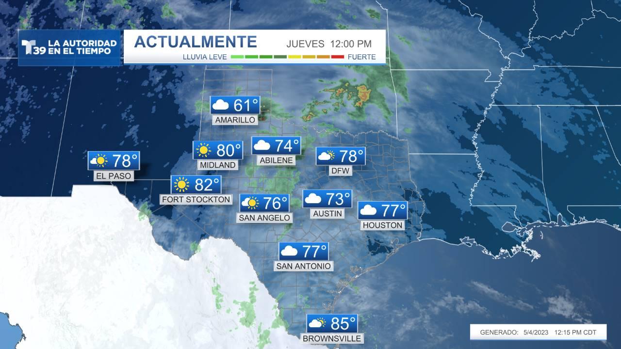 Condiciones Actuales - Texas