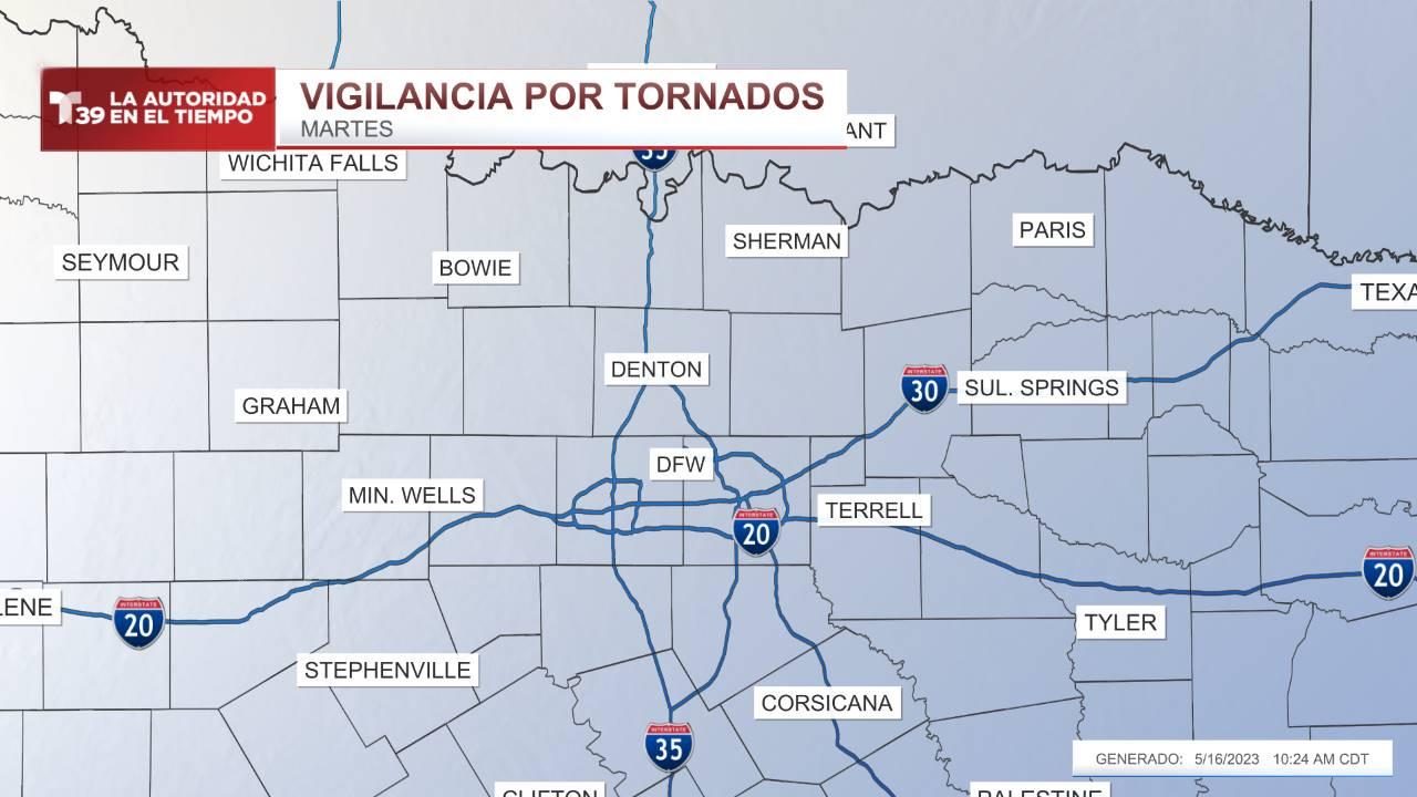 Vigilancia de Tornados