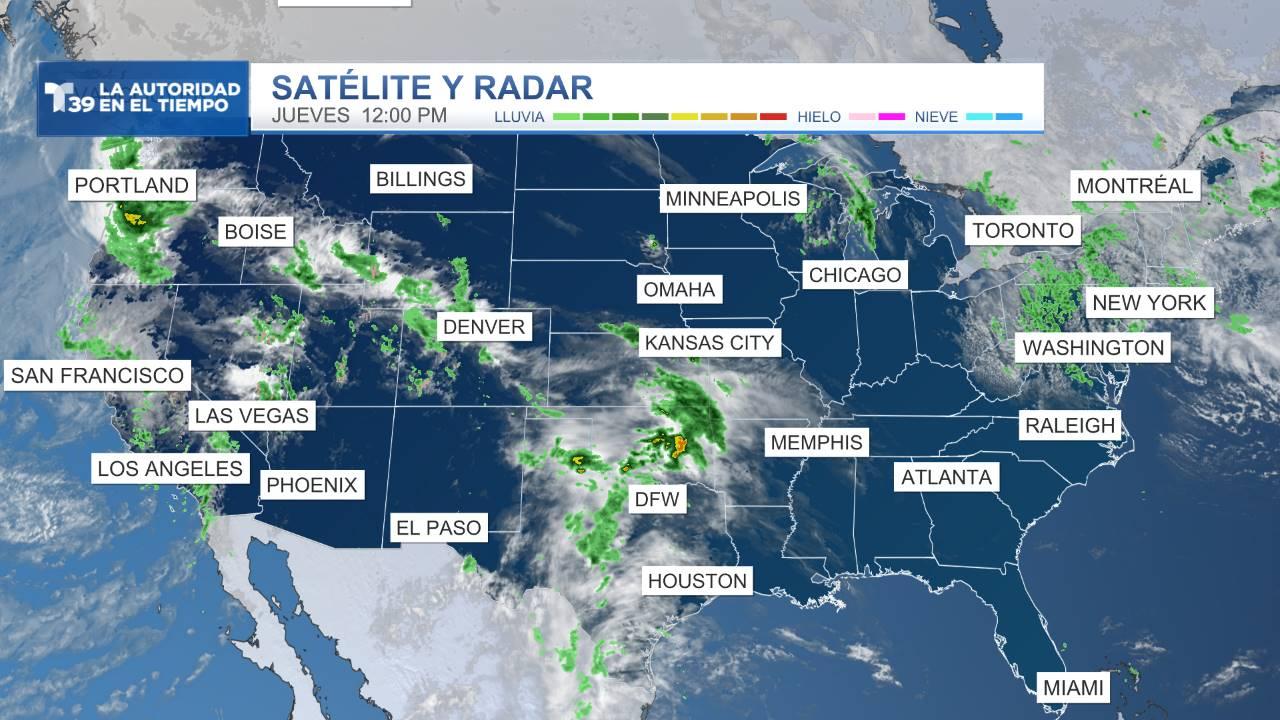 Satélite y Radar - Estados Unidos